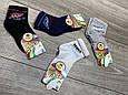 Детские носки средние Neco ассорти с надписью SPORT хлопок сетка для мальчиков 7, 9, 11 лет 12шт в уп, фото 3