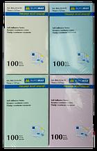 Бумага с липким слоем 127х76 100л ассорти ВМ 2314-99 12/144шт/уп
