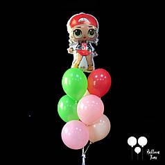 Фонтан с куколкой LOL