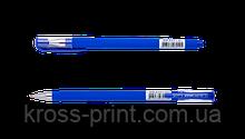 Ручка гелевая FOCUS, RUBBER TOUCH, 0,5 мм, синие чернила