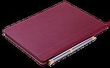 Блокнот ділової FRESH, А5, 96 л., точка, т.-червоний, позов.шкіра, фото 2
