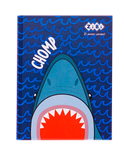 Блокнот SEA, А5 (146х190мм), 64л., кл., тв. обл., мат. лам.+лак, KIDS Line, синій
