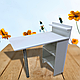 Набір №2 NAIL майстра 2в1: маниюрный стіл + стілець майстра, фото 2