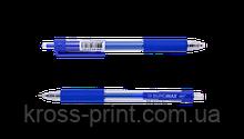 Ручка гелевая автоматическая TARGET, 0,5 мм, рез.грип, синие чернила
