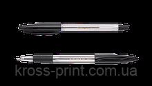 Ручка шариковая CLASSIC GRIP, 0,7 мм, пласт.корп., рез.грип, черные чернила