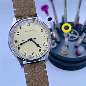 Мужские наручные часы Лонгинес (реплика) Херитейдж Милитари L2.819.4.93.2 Суперклон