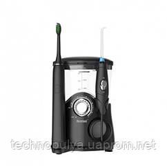 Стаціонарний Іригатор 2 в 1 7 Professional насадок + электрозвуковая зубна щітка 5 режимів Nicefeel Чорний
