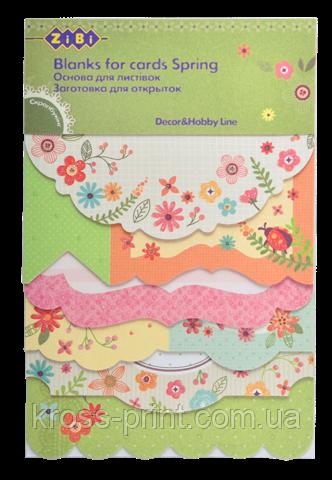 """Заготівля для листівок """"Spring"""" 10.2*15.3 см"""