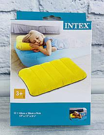 Надувная Подушка цветная Микс 68676 Intex