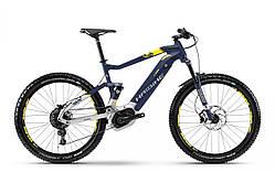 "Електровелосипед Haibike SDURO FullSeven 7.0 500Wh 27,5"", рама L, синьо-біло-жовтий, 2018"