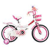 "Велосипед RoyalBaby JENNY GIRLS 14"", OFFICIAL UA, білий"