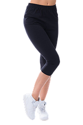Жіночі капрі бавовна Kolo 2XL чорні