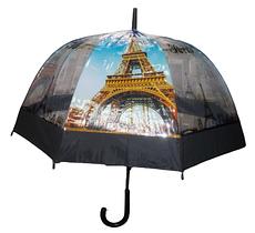 Зонт трость напівавтомат Маріо 1021-1 різнобарвний