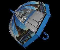 Зонт трость напівавтомат Маріо 1021-2 різнобарвний