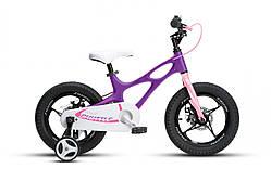 "Велосипед RoyalBaby SPACE SHUTTLE 14"", OFFICIAL UA, фіолетовий"