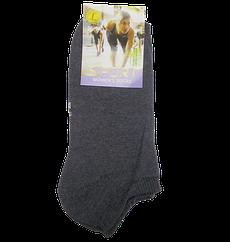 Жіночі короткі шкарпетки Sport 36-41 сірі