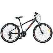 """Велосипед Spirit Spark 6.0 26"""", рама S, темно-сірий/матовий, 2021"""