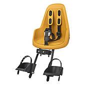 Дитяче велокрісло Bobike Mini ONE / Mighty mustard