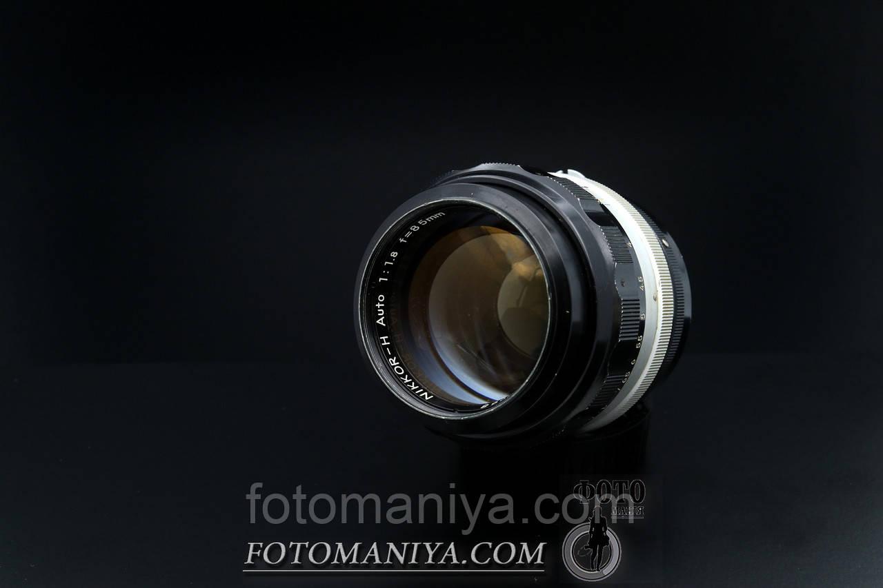 Nikkor-85mm H f1.8 Nippon Kogaku Non-Ai