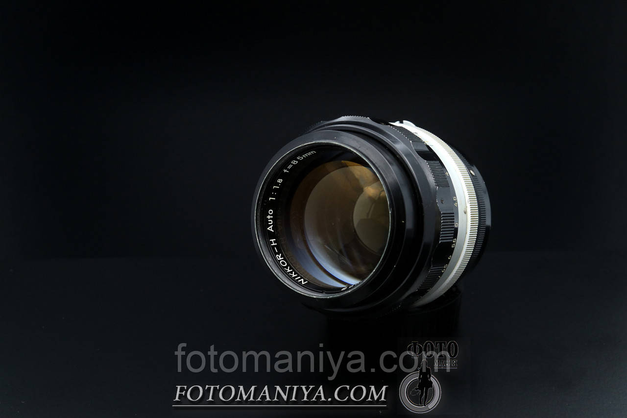 Nikkor-H 85mm f1.8 Nippon Kogaku Non-Ai