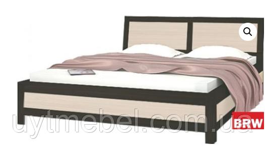 Ліжко Капрі 1600 +внесок венге м./венге св. (Гербор)