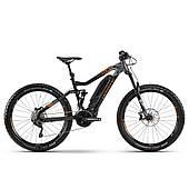 "Електровелосипед Haibike SDURO FullSeven LT 6.0 500Wh 20 s. XT 27.5"", рама M, чорно-сіро-бронзовий, 2020"
