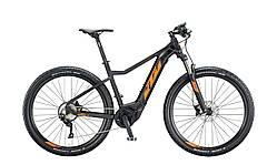 """Електровелосипед KTM MACINA RACE 291 29"""", рама М, чорно-помаранчевий, 2020"""