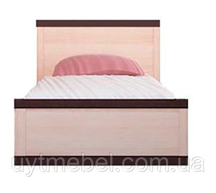 Ліжко Кармен 900 +внесок дуб родос/дуб родос (Гербор)