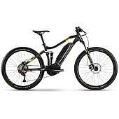"""Електровелосипед HAIBIKE SDURO FullSeven 1.0 500Wh 10 s. Deore 27.5"""", рама М, сіро-лаймово-бронзовий, 2020"""