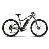 "Электровелосипед Haibike SDURO HardNine 1.0 400Wh 9 s. Altus 29"", рама L, серо-лаймово-черный, 2020"