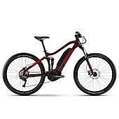 """Електровелосипед Haibike SDURO FullSeven Life 1.0 500Wh 10 s. Deore 27.5"""", рама M, вишнево-чорно-червоний,"""