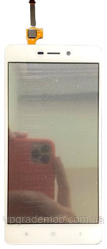 Тачскрін Xiaomi Redmi 3/3 Pro/Redmi 3s/3s Prime/Redmi 3x, білий