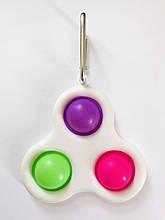 Сенсорна іграшка Simple Dimple поп іт антистрес сімпл дімпл pop it брелок three dots 3