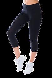 Жіночі капрі віскоза Kolo чорні XL