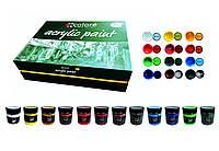 Акриловые краски 100мл 12 цветов Art Planet