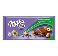 Milka шоколад молочн. Лесн. орех, 100 г