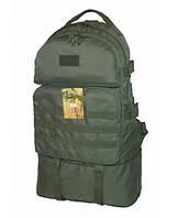 Армійський рюкзак трансформер 40-60 літрів (олива) Cordura 1000 Den