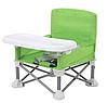 Складной детский стульчик-столик для кормления Baby seat, Зеленый