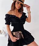Летнее платье женское короткое на каждый день, фото 2