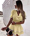 Летнее платье женское короткое на каждый день, фото 5