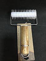 Валик для нарезки теста сеткой 10,5 см