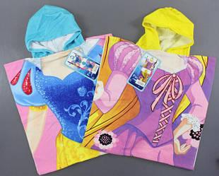 Полотенца-пончо для девочек