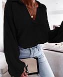 Жіноча сорочка бавовняна з довгим рукавом, фото 8