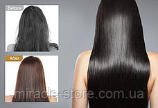 Електрична гребінна гребінець випрямляч Hair Straighter Press Comb з регулюванням температури, фото 2