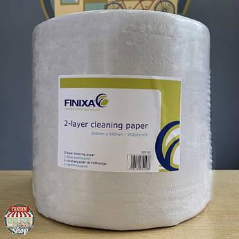 Двухслойная бумага для протирки и очистки Finixa
