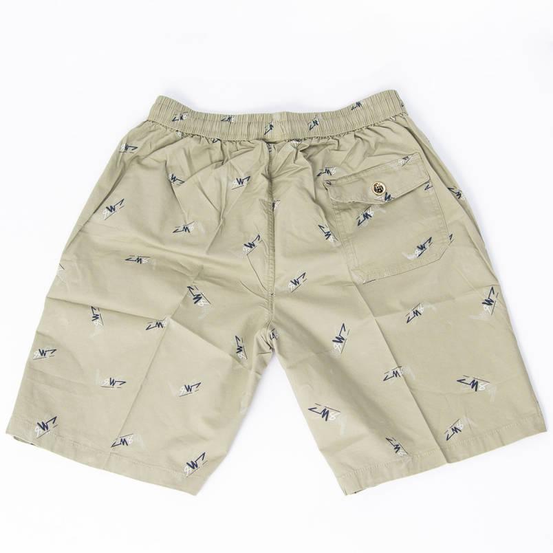 Котонові чоловічі шорти до колін (арт. 23-9656) XL, Сірий, фото 2