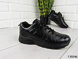 "Кросівки, мокасини, кеди чорні ""Pango"" ЕВА, повсякденна, зручна, весняна, чоловіче взуття, фото 7"