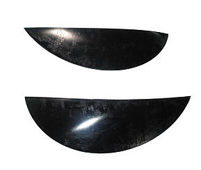 Вії на фари Daewoo Matiz 1998- (чорні) SPIRIT