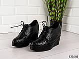"""Туфлі жіночі, чорні """"Sole Z"""", еко шкіра, мокасини жіночі, балетки жіночі, повсякденне взуття, фото 3"""