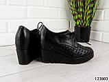 """Туфлі жіночі, чорні """"Sole Z"""", еко шкіра, мокасини жіночі, балетки жіночі, повсякденне взуття, фото 4"""